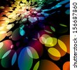 Colorful lights background.  - stock