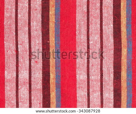 Colorful loincloth fabric background Thai style  - stock photo