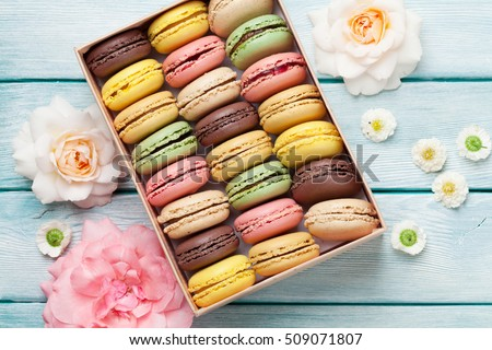 Macaron Box Stock Images, Royalty-Free Images & Vectors | Shutterstock