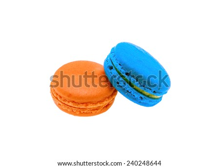 Colorful  makarons Cake
