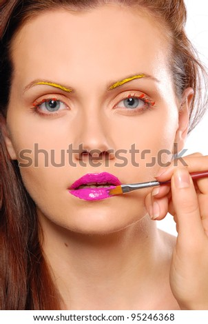 Colorful Make-Up