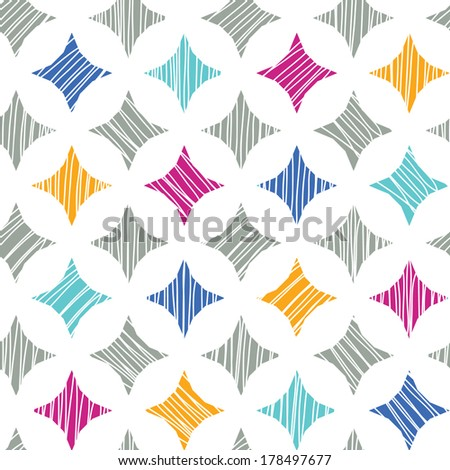 Colorful marble textured tiles seamless pattern background raster