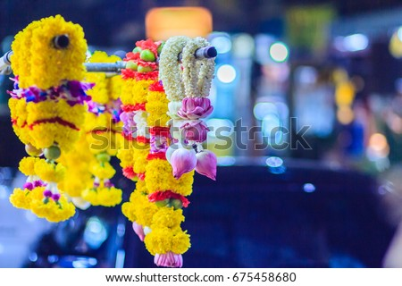 Indian Flower Garland Stock Images Royalty Free Images