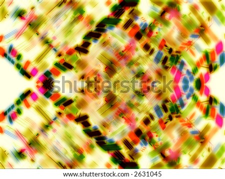 colorful_mirrored_greebles_in_a_white_background