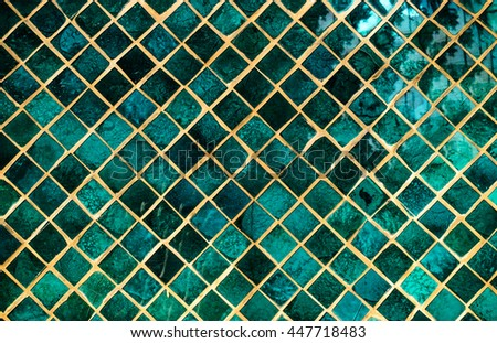 colorful mosaic glass art background