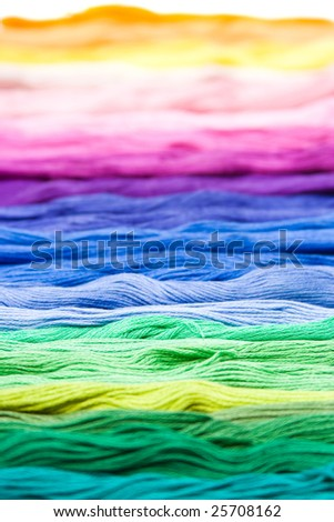 colorful, multicolor cotton material texture