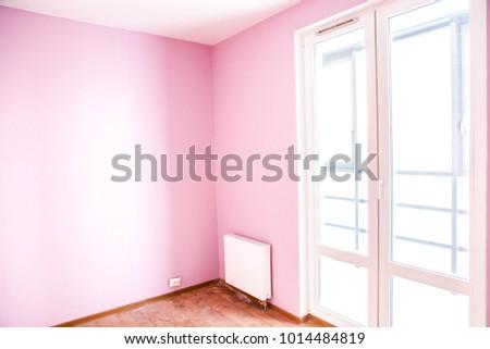 Colorful New Livingroom New Apartment Apartment Stock Photo ...