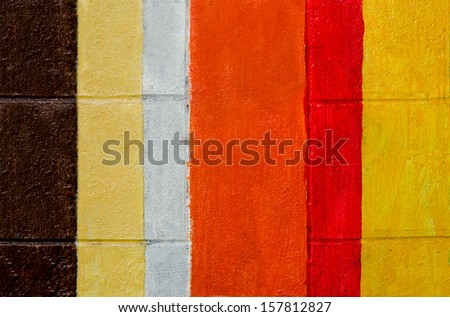 Colorful of cement wall background