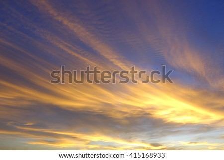 Colorful of sky in the morning:un-focus,image blur:ideal use for background.