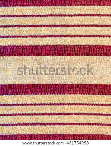 Colorful of traditional Thai silk for decoration in the living room. - stock photo