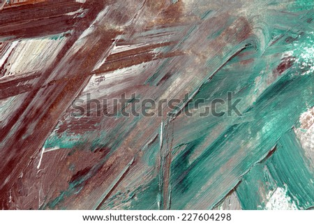 colorful oil on paper background - stock photo