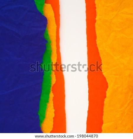 colorful paper design - stock photo