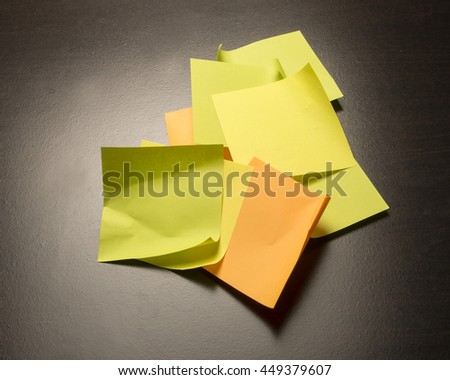 Colorful paper for making notes/Sticky Paper/Office supply for memos and reminders
