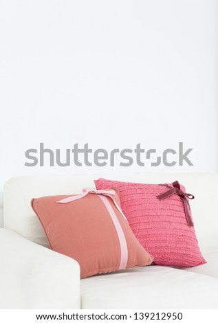 Colorful pillows - stock photo