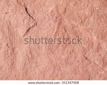 Colorful pink sandstone banded background - stock photo