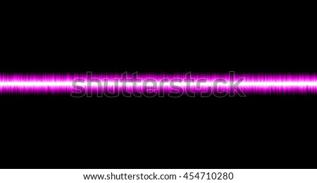 Colorful pink soundwave on black background and copyspace use for wallpaper or presentation background