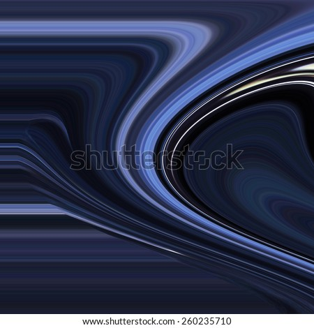Colorful psychedelic background made of interweaving curved shapes. Illustration - stock photo