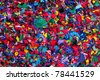 colorful rag  background - stock photo