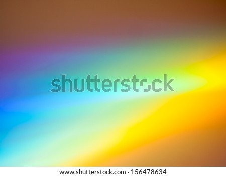 Colorful rainbow background made from DVD  - stock photo