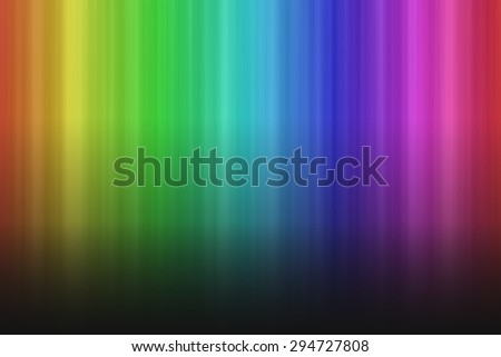 Colorful rainbow background with vertical stripes and shadow