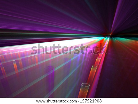 Colorful rays background texture - stock photo