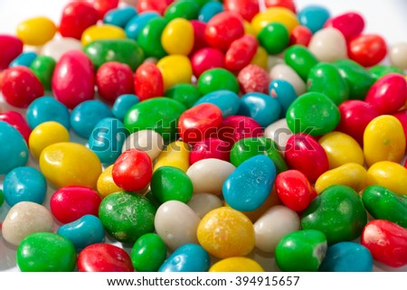 colorful round candy as a sweet treat