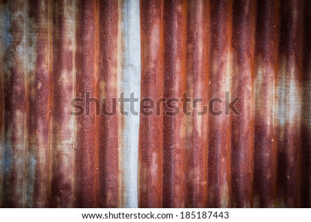 Colorful Rusty Metal