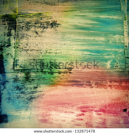 Colorful scratched background - stock photo