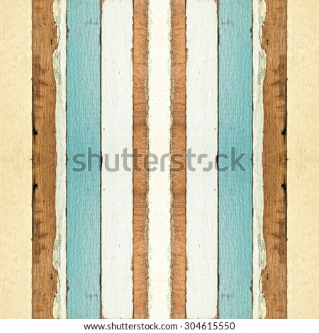 Colorful seamless old wood planks texture, can be used for background