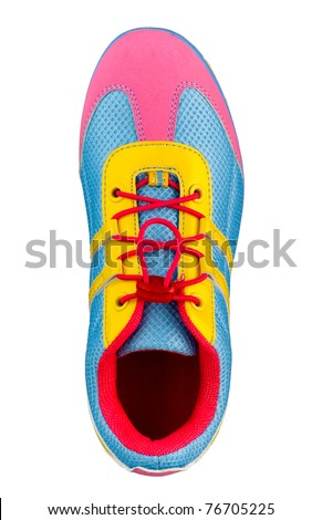 Colorful shoe fit anyone who likes colors