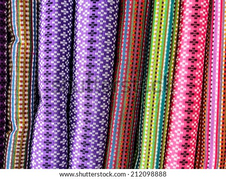 colorful silk background - stock photo