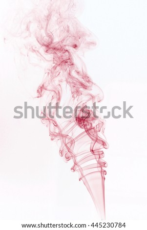 Colorful smoke isolated on white background , all colors , black and white background. - stock photo
