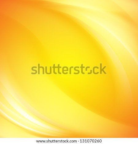 Colorful smooth light lines background.  Illustration. - stock photo