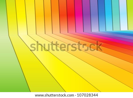 Colorful spectrum background - stock photo