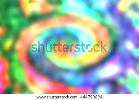 Colorful Spiral Background - stock photo
