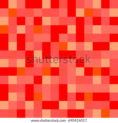 Colorful squares. Abstract colorful background of squares. Mosaic. Geometric pattern