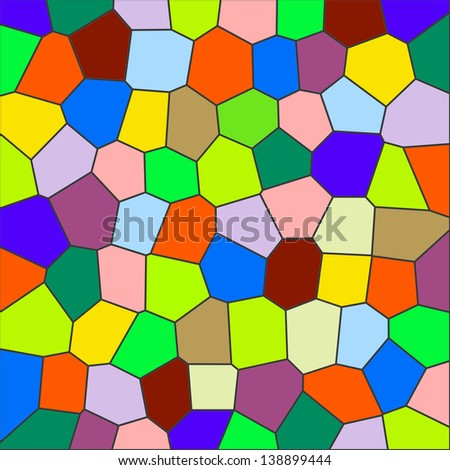 colorful stained-glass windows. stained glass texture. Design and art concept. Abstract background - stock photo