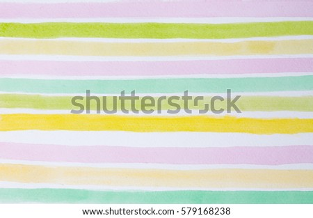 Colorful striped watercolor background