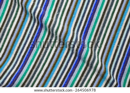 Colorful stripes Material textile background or texture