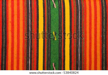 Colorful textile pattern - stock photo