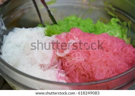 rainbow shaved ice - Picture of Aloha Deli Ice Cream &- Shave Ice ...
