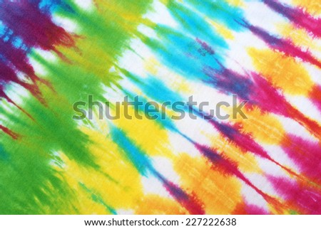 colorful tie dyed pattern for background.  - stock photo