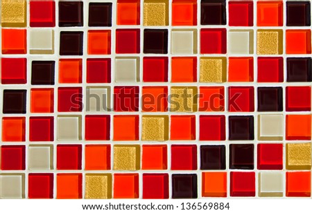 colorful tiles,mosaic,background. - stock photo