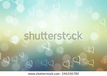 colorful valentine sparkle bokeh background or bokeh wallpaper
