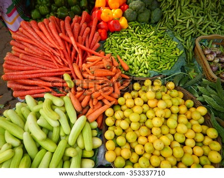 Colorful vegetables-II