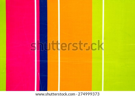Colorful vertical striped wall background or texture