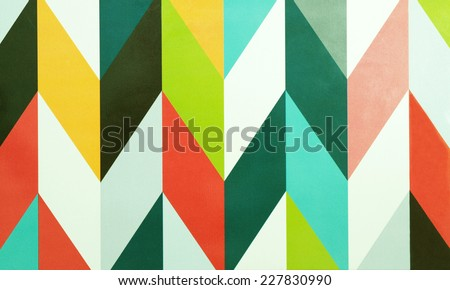 Colorful vintage abstract background - stock photo