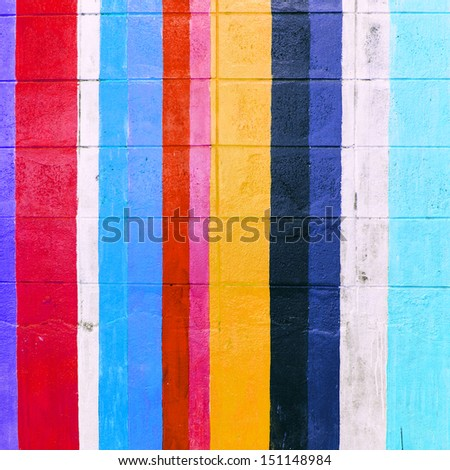 colorful wall concret background - stock photo