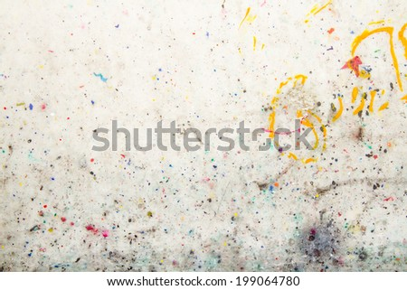 colorful wall texture - stock photo