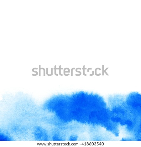 Colorful watercolor background for your design, poster, greeting card and invitation. Decorative watercolor gradient.